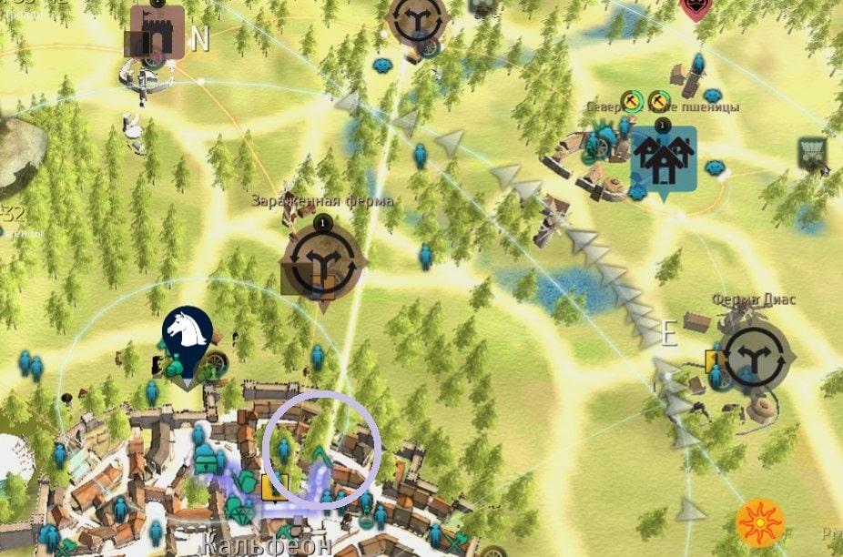 Кераноа на карте