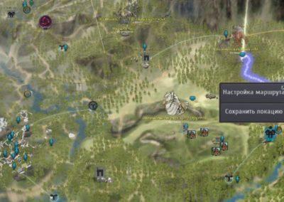 Лес Маншару на карте